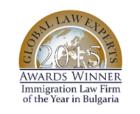 GLE 2015 – Immigration Law Firm of the Year in Bulgaria (Small)